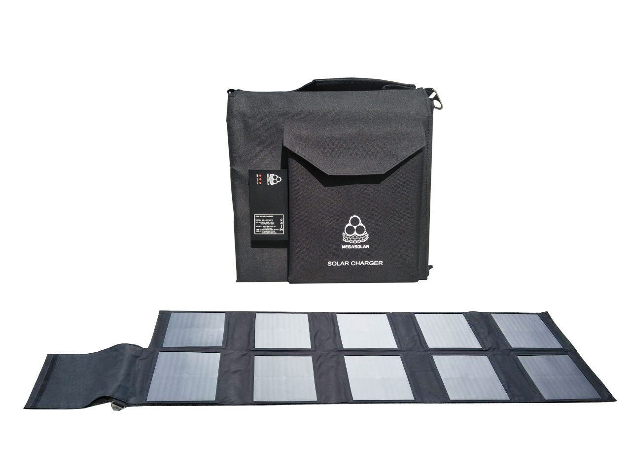 100W太阳能充电折叠包PD版