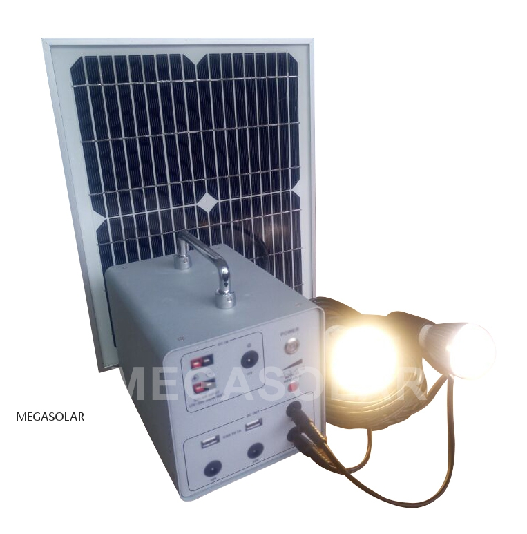Outdoor power bank DC ones charging 2 - 20W ~ 100W Solar Panel