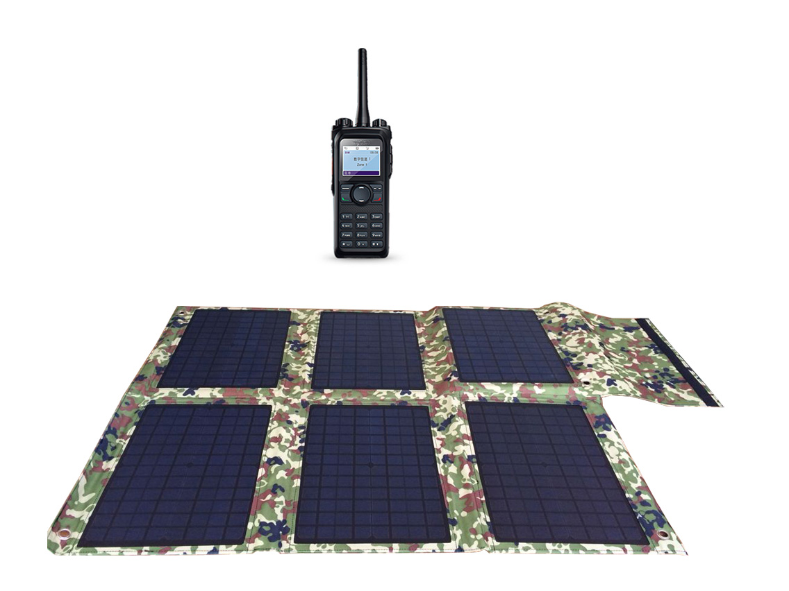 Outdoor telecommunication device charging - 40W ~ 100W Solar Charger