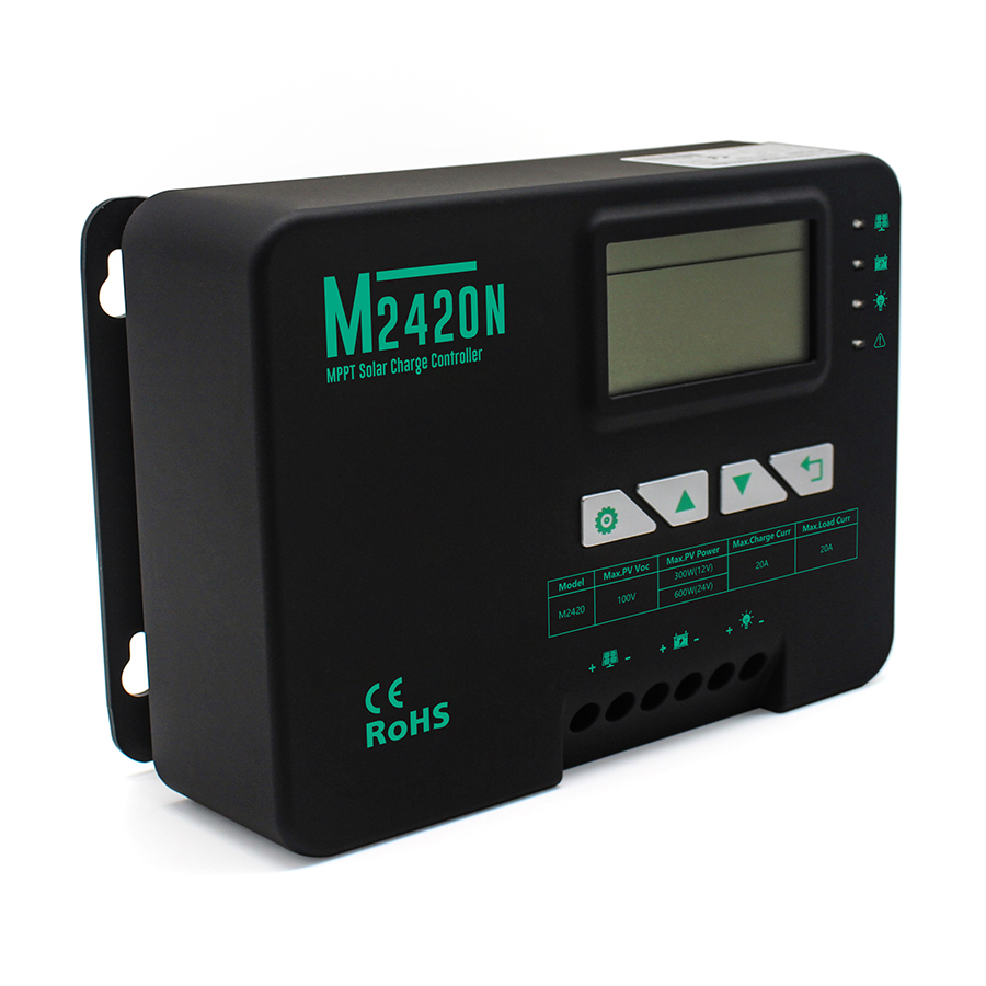 20A MPPT solar charge controller - NG