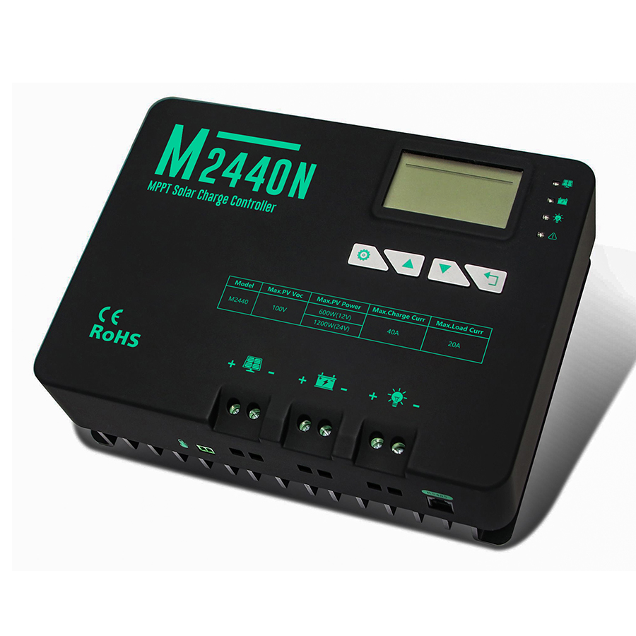 40A MPPT solar charge controller - NG