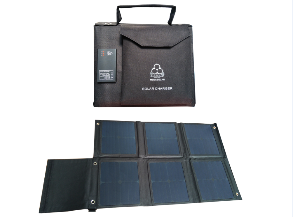 Outdoor MacBook Air Charging - 60W Solar Charger