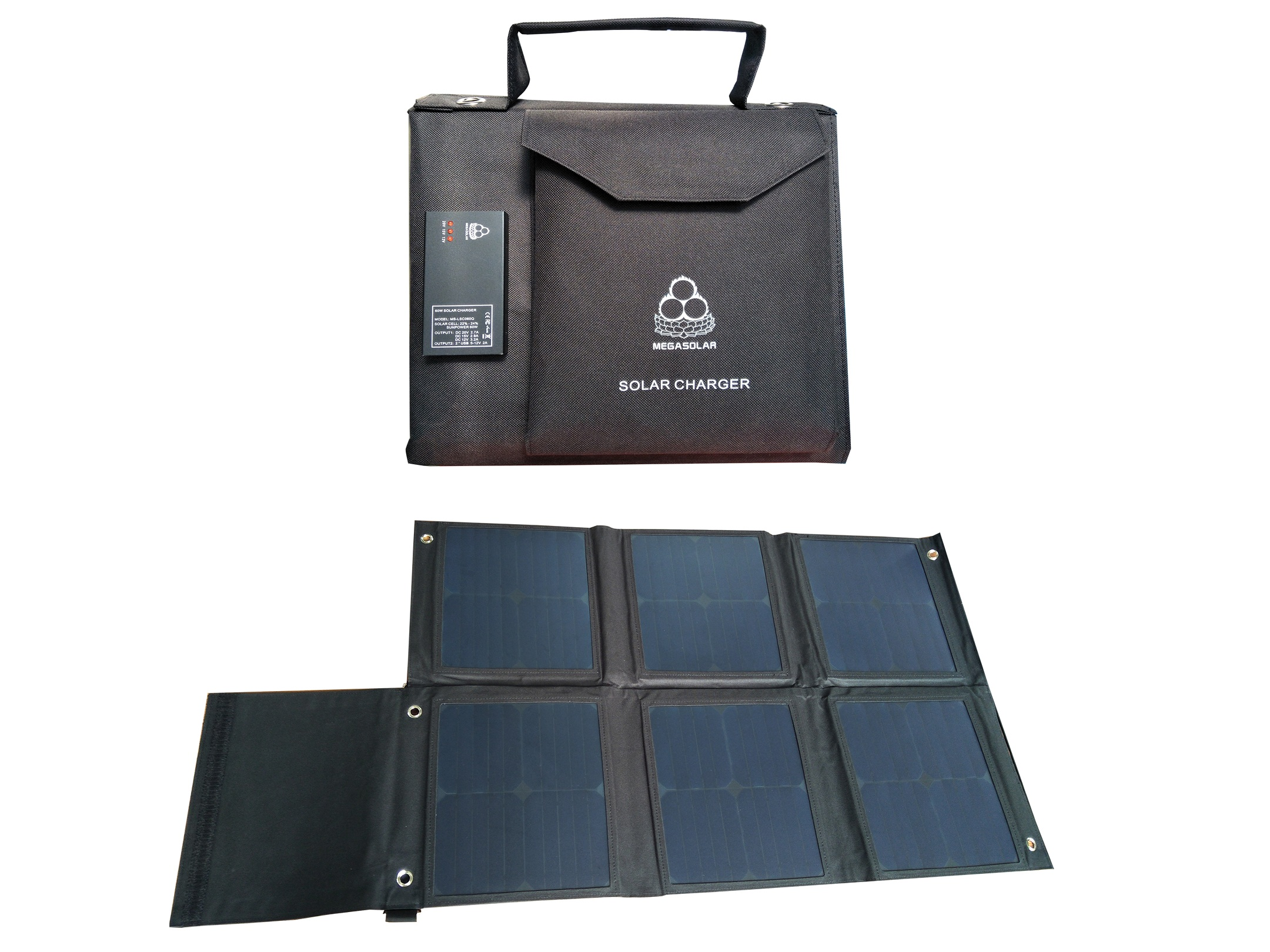 60W Solar Charger QC